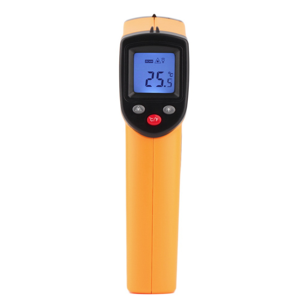 1Pcs GM320 Non-Contact Laser LCD Display IR Infrared Digital C/F Selection Surface Temperature Thermometer For Industry Home Use(China (Mainland))