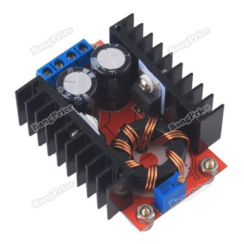 loveygood Eco-friendly DC-DC 10-32V To 12-35V 150W Power Supply Boost Adjust Module Mobile Laptop Car fancy(China (Mainland))