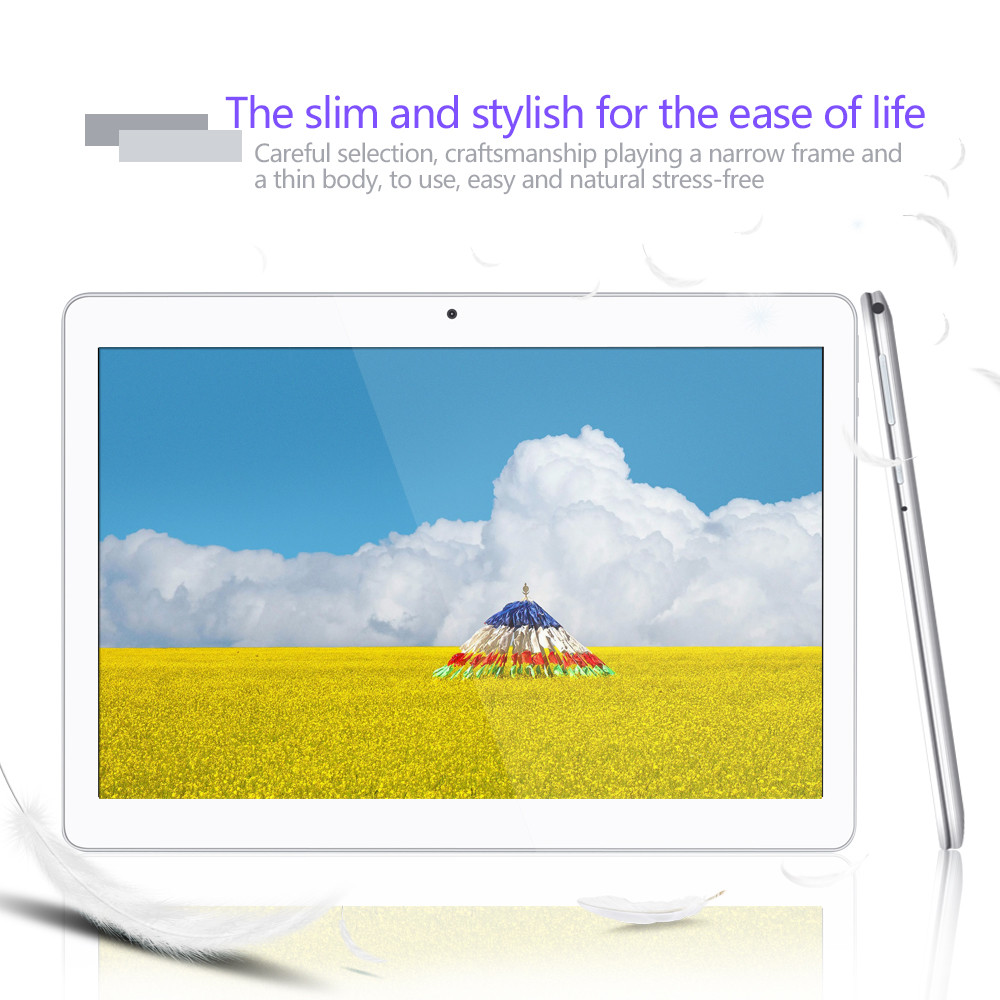 "Yuntab 10.1"" K107 Android 5.1Tablet 1GB+16GB Quad-Core Android tablet with Dual Camera support Dual Sim Card 4500mAH battery"