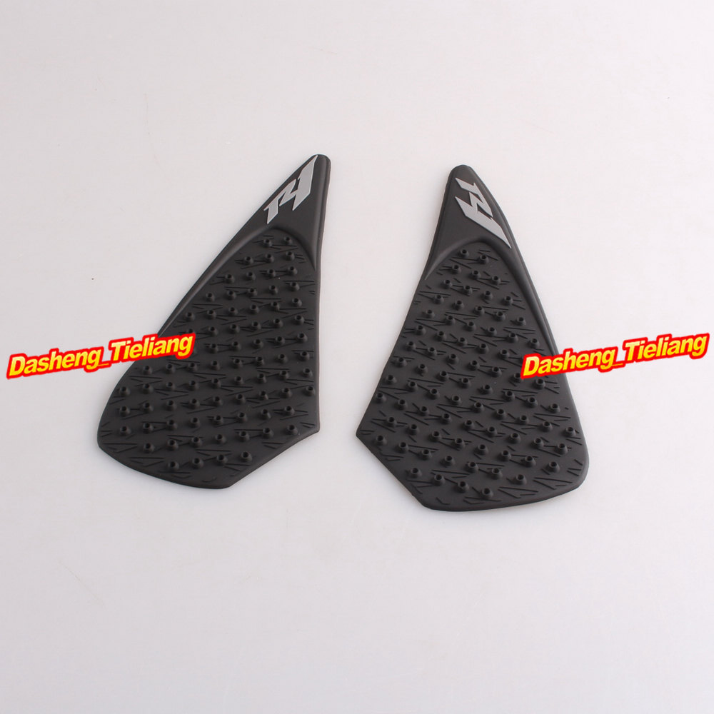Tank Antiskid Traction Pad Side Gas Grip Protector for Yamaha YZF R1 2004 2005 2006 High Quality(China (Mainland))