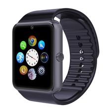 Умный часы GT08 Reloj Inteligente Bluetooth разъема синхронизации поддержка Sim карты для Apple iphone Android телефон Smartwatch часы