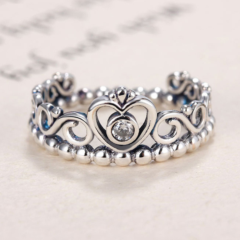 popular pandora crown ring buy cheap pandora crown ring. Black Bedroom Furniture Sets. Home Design Ideas