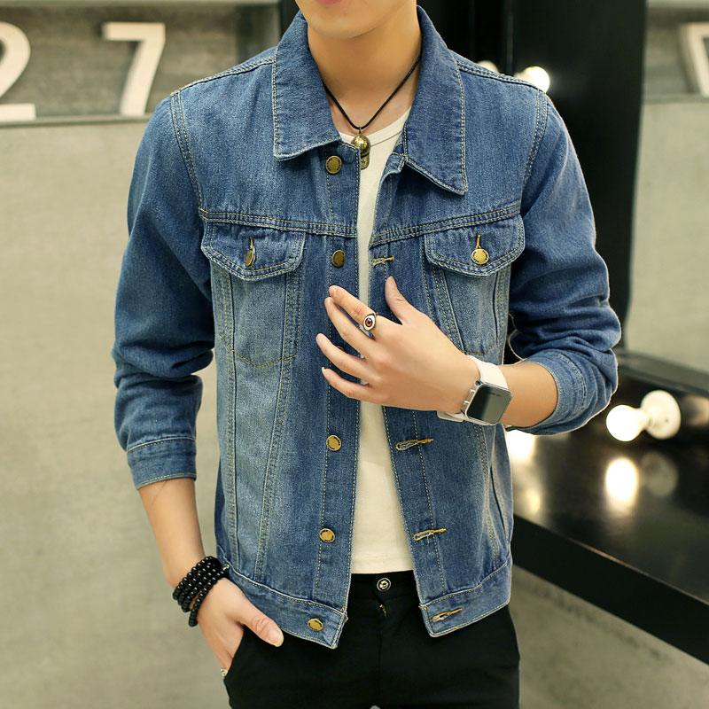 No Sleeve Denim Jacket - Coat Nj