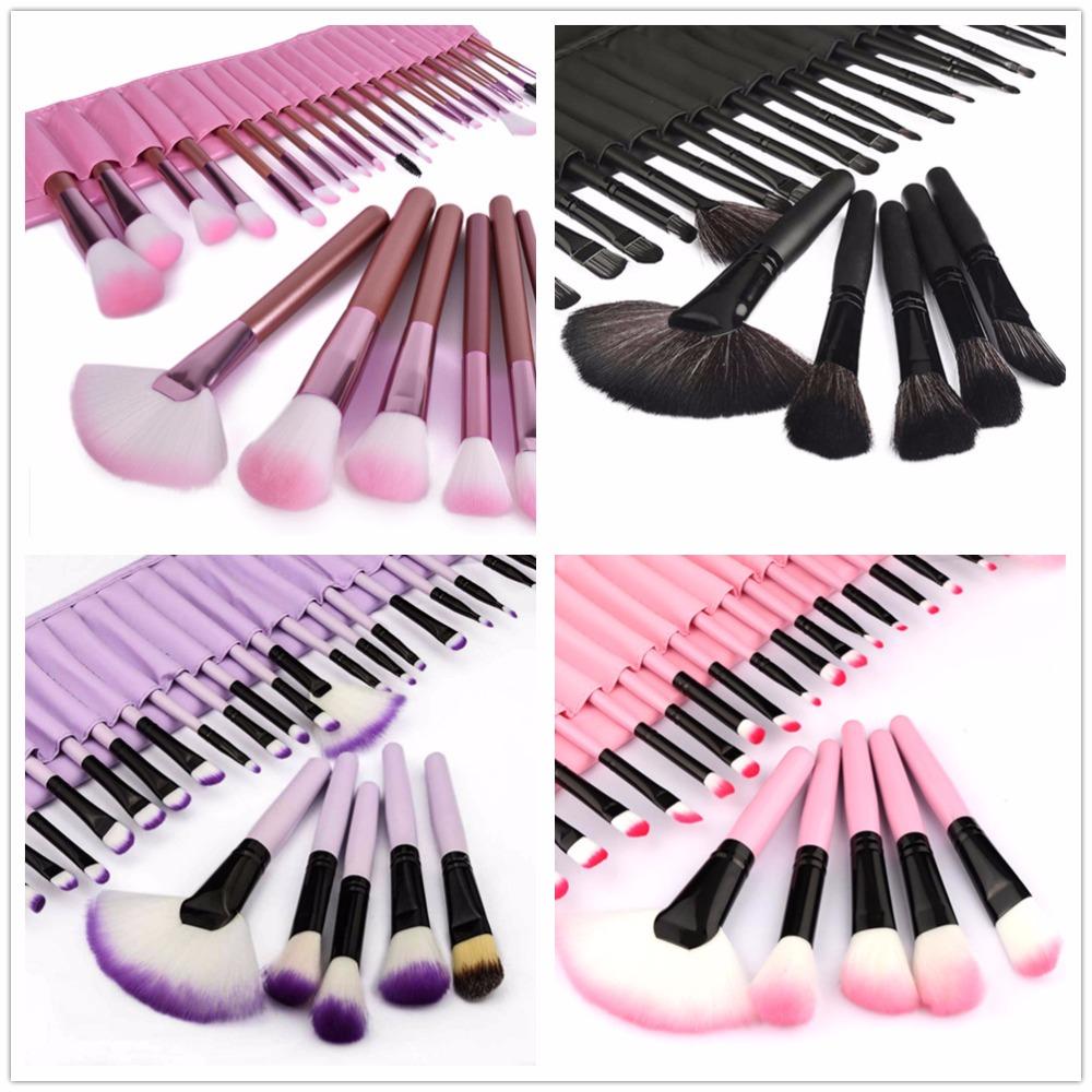 32pcs Full Set Women Makeup Brush Kit Superior Professional Soft Cosmetic Brushes Multifunction Toiletry Kit Brush For Makeup(China (Mainland))