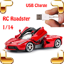 Buy New Arrival Gift 1/14 RC Electric Drift Car Remote Control Roadster Vehicle Openable Wing Door Model Racing Toys Electric Scale for $85.49 in AliExpress store