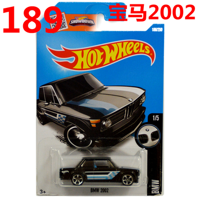 Free Shipping 2016 New Hot Wheels BM 2002 Car Models Metal Diecast Car Collection Kids Toys Vehicle Children Juguetes(China (Mainland))