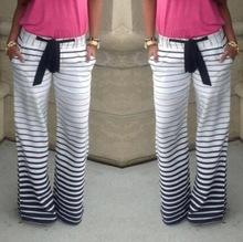 2015 Summer Style Women Pants Casual Loose Striped Sport Trousers Harem Pants Pantalones Mujer Palazzo Pants Trousers Women(China (Mainland))