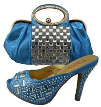 women shoes and bag to match for parties african shoes and bags matching set shoes and bag set women pumps fashion women shoe(China (Mainland))