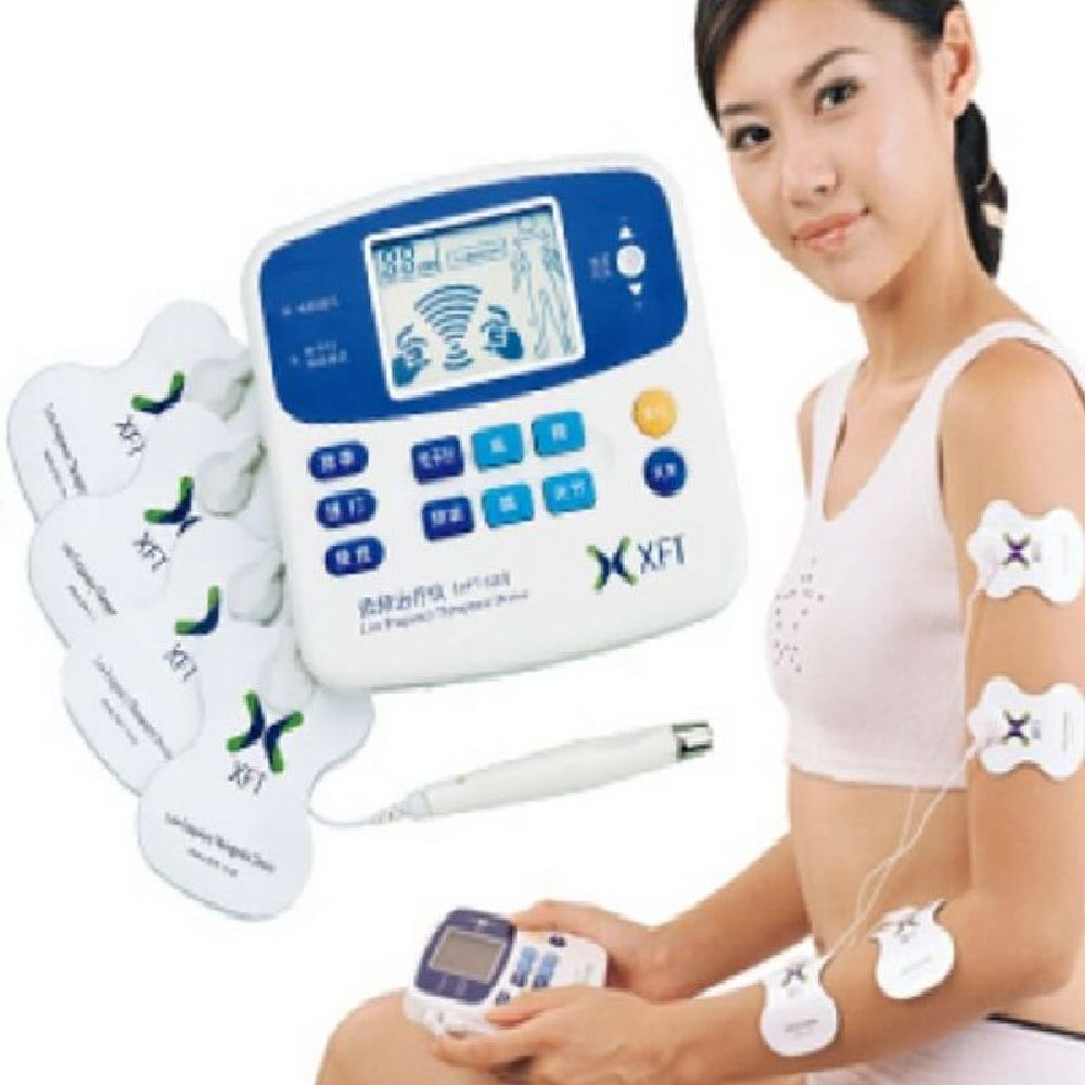 DUAL TENS MACHINE DIGITAL MASSAGE + ACCUPUNCTURE PEN Body Massager free shipping(China (Mainland))