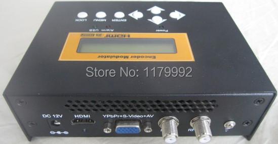 HDMI to RF Encoder Modulator H.264 HD Encoder Digital TV ATSC RF Output Modulator REM7511M(China (Mainland))