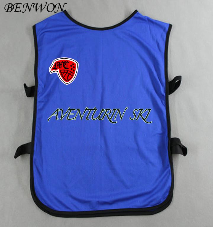 Benwon - DIY logo name number soccer group against bibs kid's good quality soccer shirt jerseys boy's sports group against vest(China (Mainland))