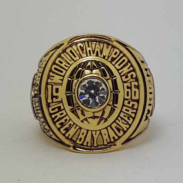 1966 Green Bay Packers I super bowl ring size 11 best gift for fans Free shipping GO PACK GO(China (Mainland))