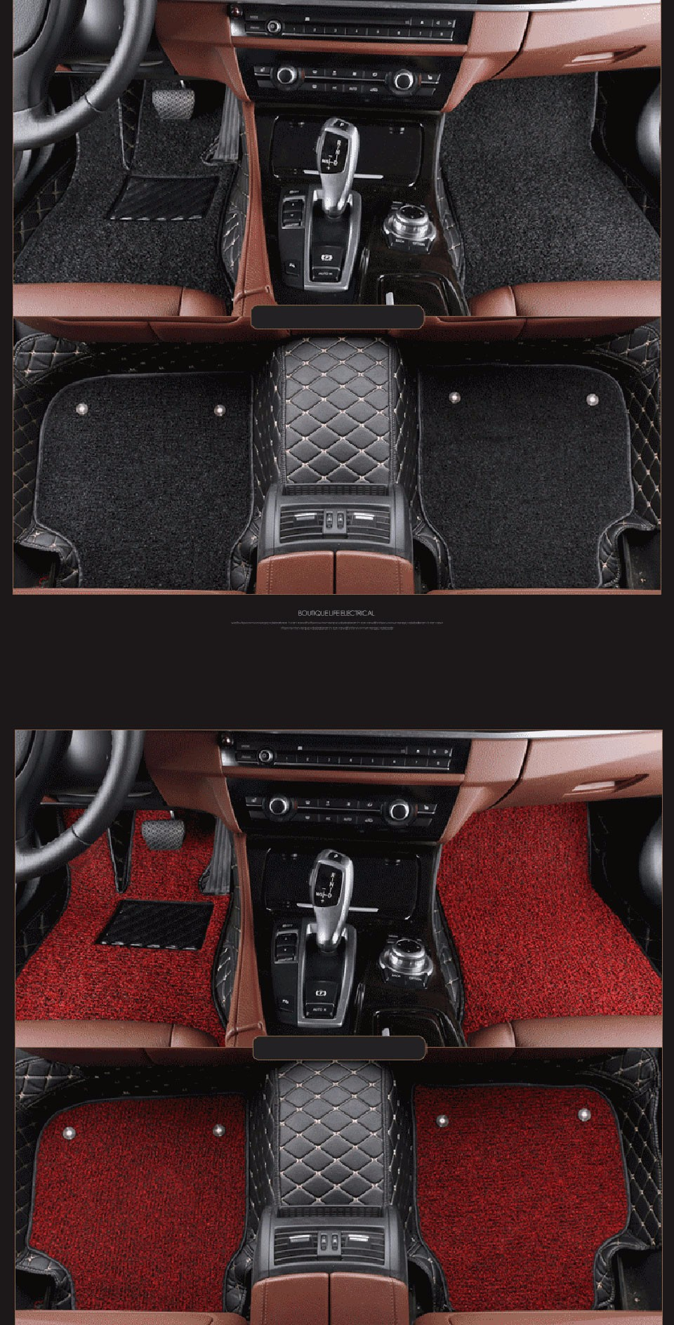 Car Floor Mats For Hyundai IX35 IX25 Sonata Santafe Tucson ELANTRA Accent Verna Car Accessories sonata car styling Foot mats