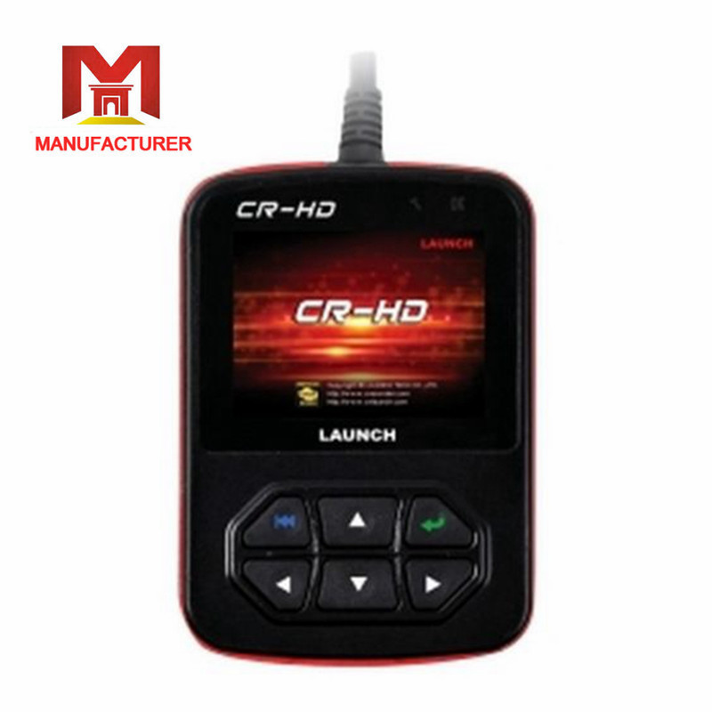 Lifetime Official website update free truck diagnostic scanner tool Original Launch CR-HD heavy duty code reader Launch CR-HD(China (Mainland))