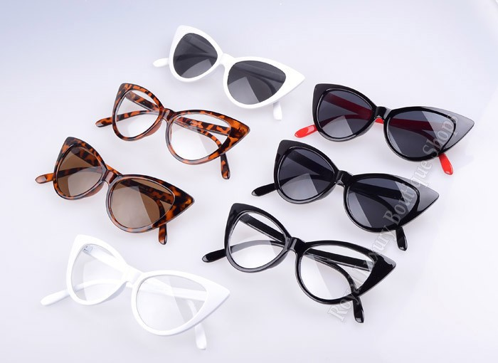 Super Popular Sexy Mod Chic cat eye sunglasses women Inspired Retro Sun glasses Shades ss048