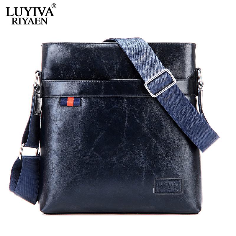 2014 New Brand man bag briefcase PU Leather Cross Body Bag Men Shoulder High Quality Messenger Bag China Men's Bags suppliers(China (Mainland))