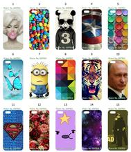 Mobile Phone Case Retail 1pc Sukll Panda Chocolate Protective White Hard Case Cover For Iphone 5C Free Shipping