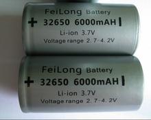 6 шт. 3,7 V 6000 мАч перезаряжаемый литий-ионный аккумулятор 32650 батарея LiFePO4 ICR32650 аккумулятор для резервного копирования электропитание