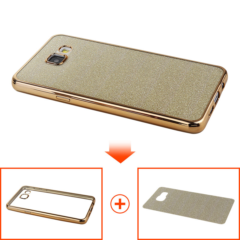 A3 A5 A7 2016 Case Samsung Galaxy A3 A5 A7 2016 A310F A510F A710F Silicone Cover Plating Luxury Ultra Thin Soft TPU Coque