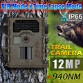 12mp Waterproof IP66 Invisible IR hunting cameras Night vision 48 IR LEDs chasse Scouting Camera Infrared