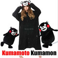 2016 Winter Adult Bear Kumamon Onesie Cosplay Costume Pajamas Onesie Sleepwear Cute Animal Pajamas Hoodies Unisex