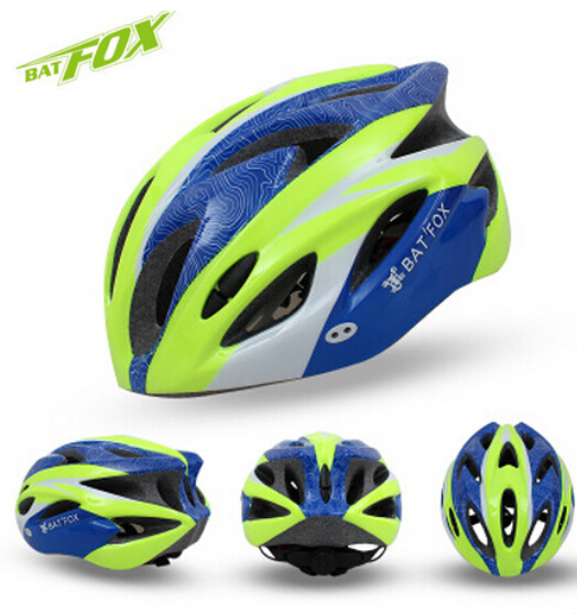 BATFOX Integrally-molded Mountain Road Bicycle Helmet Visor 220g Mountain MTB Bike Cycling Helmet BMX Helmets(China (Mainland))