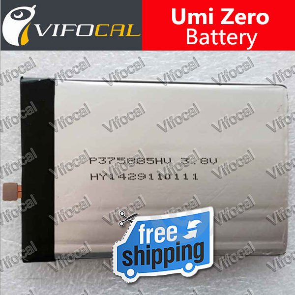 Umi Zero battery 2780mah 100 Original Replacement Accessory Bateria For Cell Phone Free Shipping Track Number
