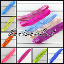 Boutique Elastic Infant Headbands Elastic Hair Band Rubber Band Plastic Hairband For Baby Girls Hair Accessories