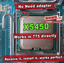 Intel Xeon x5450 cpu 3,0 GHz/12MB/1333 mhz lga775-prozessor nahe core 2 quad q9650 funktioniert auf lga775 mainboards keine Notwendigkeit adapter(China (Mainland))
