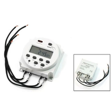 Buy Promotion! AC 220V-240V LCD Digital Power Programmable Timer Switch Time Relay 8A for $5.41 in AliExpress store