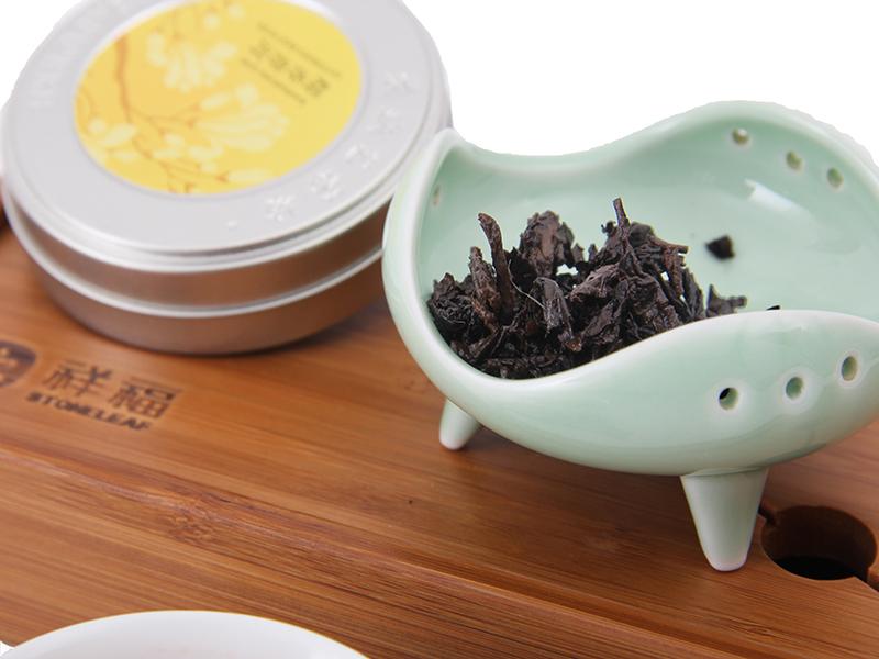pu er tea Hot Sale Black Tea Chinese Organic food mini Compressed tea High Quality puer