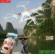 Syma X8W WiFi drone Real Time Video 2.4G 4ch 6 Axis Venture with 2MP Wide Angle FPV Camera RC Quadcopter RTF VS x8c cx-30w