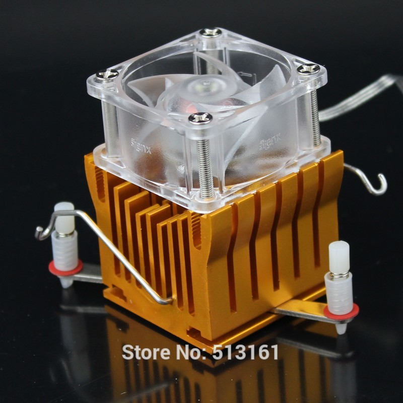 Heat sink PC CPU Cooler Cooling 12V Fan DIY Southbridge Northbridge Aluminum Heatsink(China (Mainland))