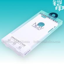 Fashion Blister PVC Plastic Retail Packaging Boxes Package For iphone 6 6 6plus Mobile Phone Case 400pcs/Lot free ship KJ-475