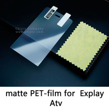 Glossy Lucent Frosted Matte Anti glare Tempered Glass Protective Film On Screen Protector For Explay Atv