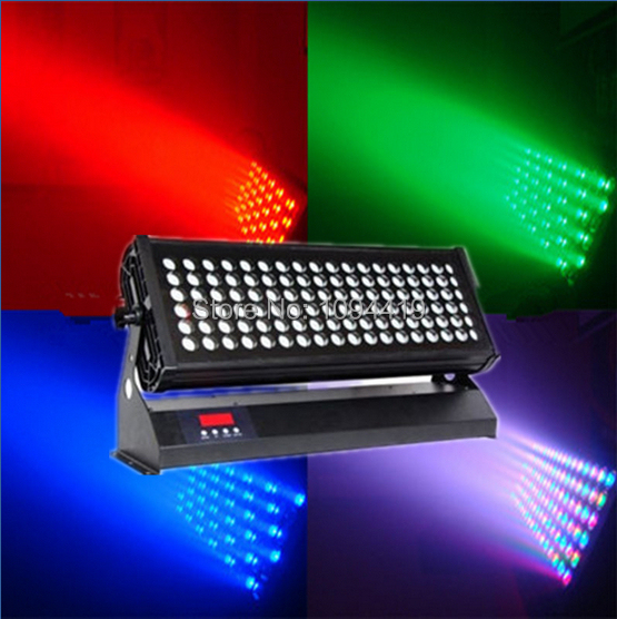 Free shipping 108x3w rgb or rgbw high power led wall washer ip 65 waterproof(China (Mainland))