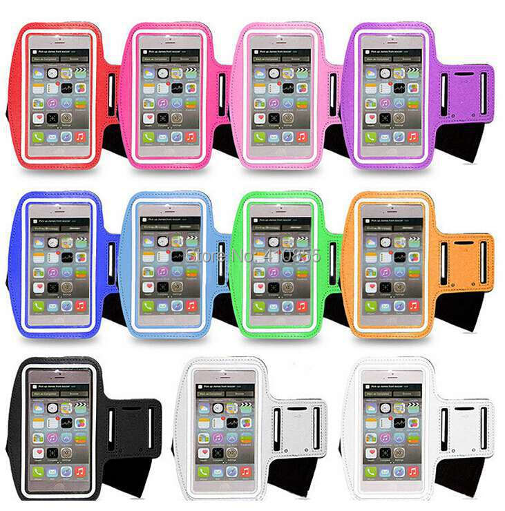 100pcs/* Outdoor Running Sports Gym Arm Cell Phone Armband Holder For iPhone 6s 6 / 6s Plus Pouch Cover(China (Mainland))