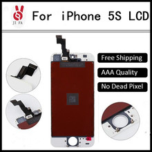 Quality AAA Dead Pixel IPhone 5S LCD Display Touch Screen Black White+Gadgets - JI FA Communication Co. Ltd. store