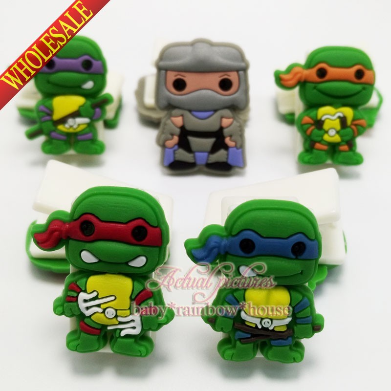 Ninja Turtles Hot Movie 5pcs/set bookmarks paper clips office binding supplies school suppies kid party favors hot selling(China (Mainland))