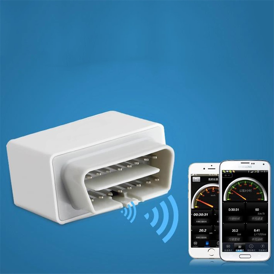 NEW OBD2 WIFI Car Diagnostic Scanner adapter code reader scan tool for iOS Android Phone White hot selling(China (Mainland))
