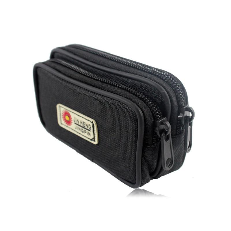 New Casual Waist font b Bag b font Men Fanny Pack 3 5 inch Monbile Phone