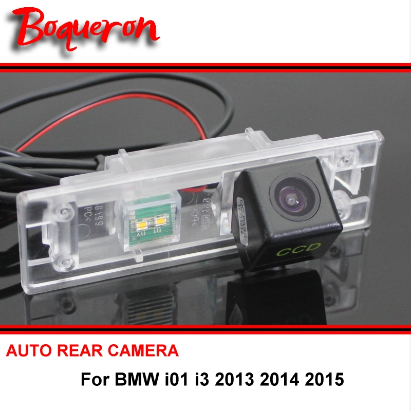 For BMW i01 i3 2013 2014 2015 Car Reverse Camera wireless Car Auto BackUp Parking Assistance CCD Night Vision Rear View Camera(China (Mainland))