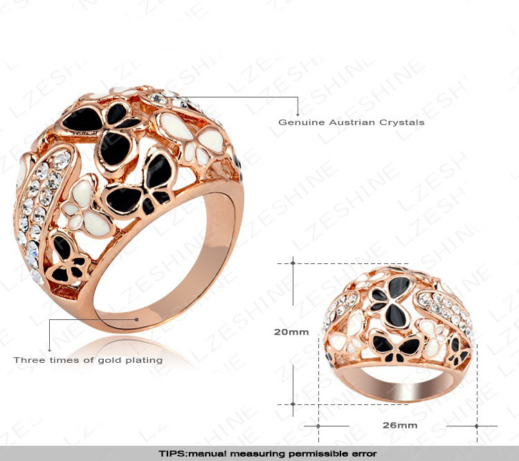 costume pave wedding rings