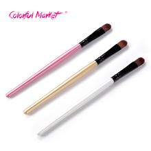 Stylish 2016 Hot 1pcs Women Professional Artificial Fiber Brush Single eyelashes makeup brushes Eyebrow Set lady Cosmetic tool