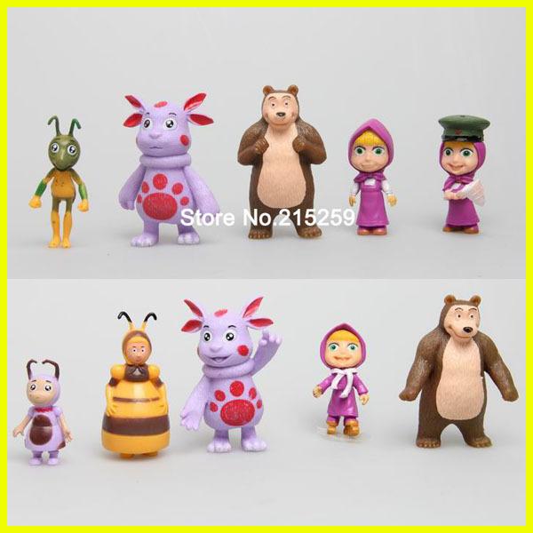 Masha And The Bear Toys uk Cartoon Masha And Bear Toy