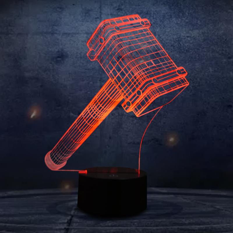 online kaufen gro handel thor hammer lampe aus china thor. Black Bedroom Furniture Sets. Home Design Ideas