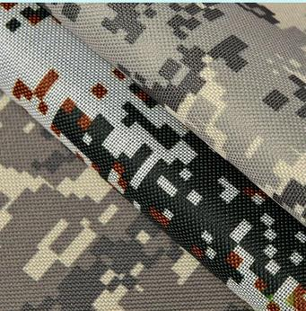 600d digital military camouflage printed PVC Oxford FABRICS bags cloth printing cloth outdoor products FABRICS(China (Mainland))