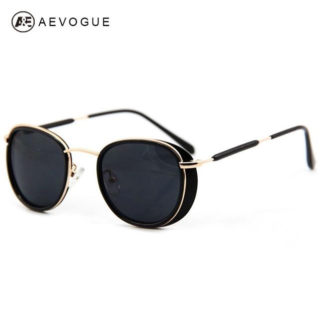 2014 последним мода aevogue марка солнцезащитные очки женщин металлический каркас унисекс солнечные очки UV400 AE0070