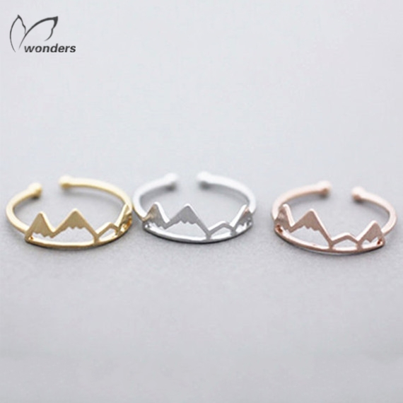 10pcs/lot Bijoux Femme Gold Plated Masonic Ring Championship Wedding Anel Adjustable Mountain Sons of Anarchy Ring For Women(China (Mainland))