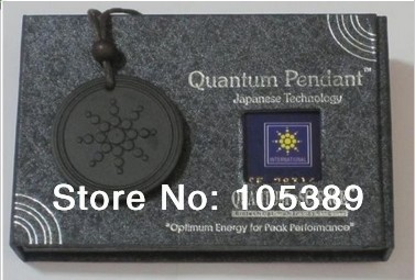 Wholesale - Free shipping new 100pcs/lot Scalar Energy Quantum Science Healthy Pendant With Product Registration Cards(China (Mainland))